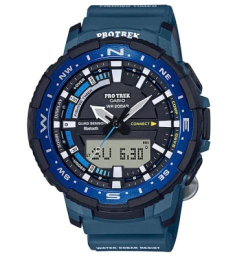Часы Casio PRO TREK PRT-B70-2E с термометром