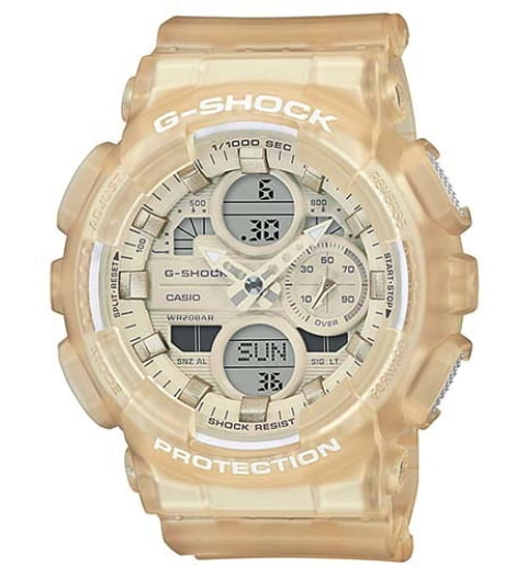 Часы Casio G-Shock  GMA-S140NC-7A с водонепроницаемостью 20 бар
