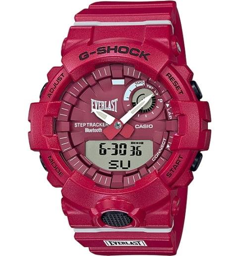 Часы Casio G-Shock GBA-800EL-4A с шагомером