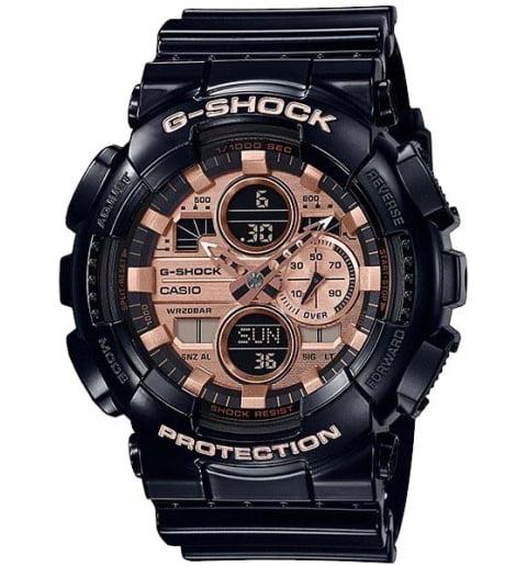 Часы Casio G-Shock  GA-140GB-1A2 с водонепроницаемостью 20 бар