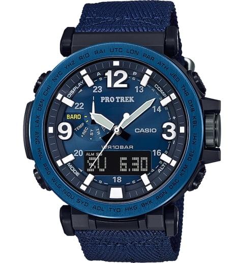 Часы Casio PRO TREK PRG-600YB-2E с термометром
