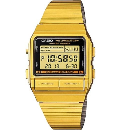 Часы Casio DATA BANK DB-380G-1D