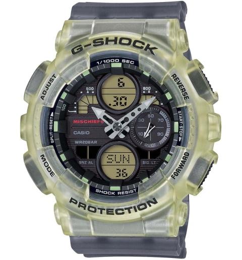 Часы Casio G-Shock  GMA-S140MC-1A с водонепроницаемостью 20 бар