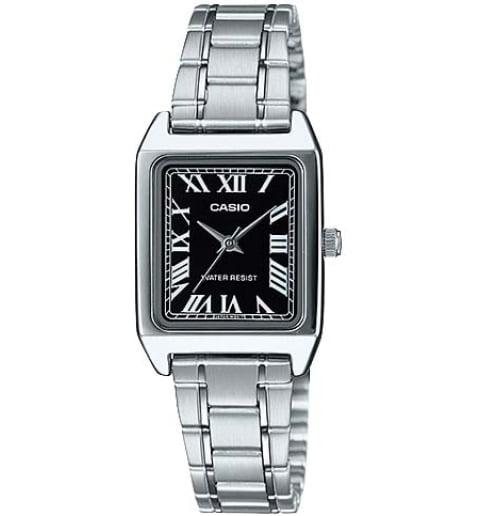 Прямоугольные часы Casio Collection  LTP-V007D-1B