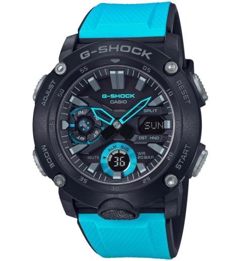 Casio G-Shock GA-2000-1A2 унисекс