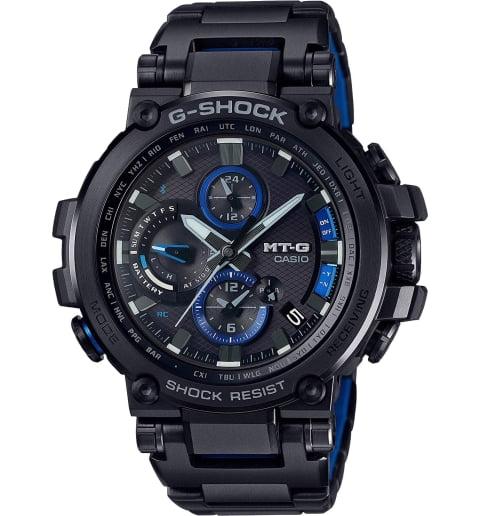 Часы Casio G-Shock MTG-B1000BD-1A на солнечной атарее