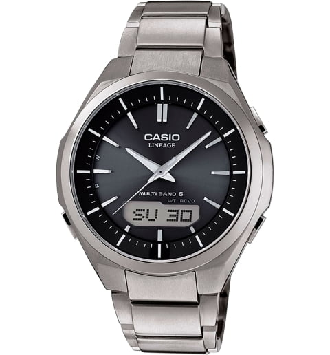Часы Casio Lineage LCW-M500TD-1A в титановом корпусе