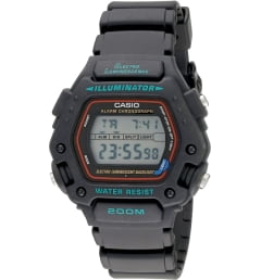 Casio G-Shock DW-290-1V с синим циферблатом