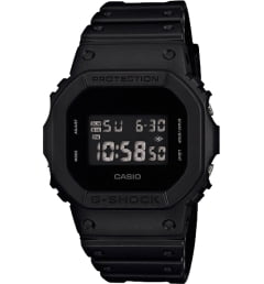 Casio G-Shock DW-5600BB-1E с секундомером