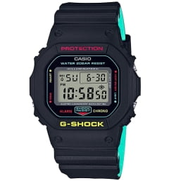 Бочкообразные Casio G-Shock DW-5600CMB-1E