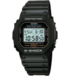 Casio G-Shock DW-5600E-1V с секундомером
