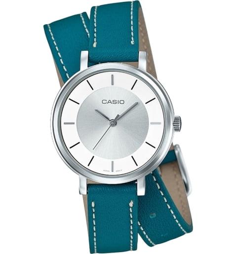 Дешевые часы Casio Collection LTP-E143DBL-3A