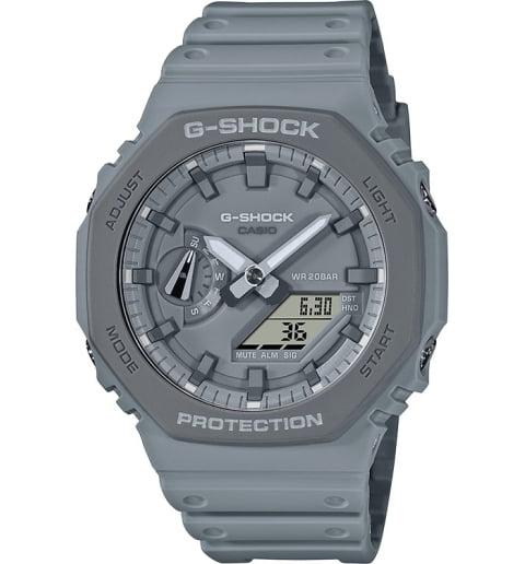 Часы Casio G-Shock GA-2110ET-8A с водонепроницаемостью 20 бар