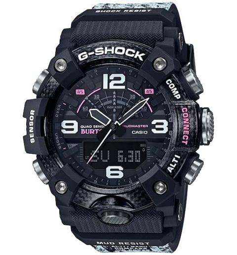 Часы Casio G-Shock  GG-B100BTN-1A с термометром