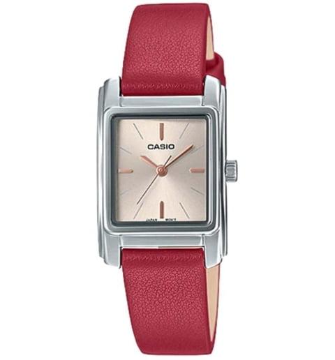 Прямоугольные часы Casio Collection  LTP-E165L-4A