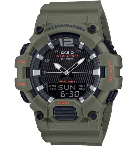 Часы Casio Collection HDC-700-3A2 с записной книжкой