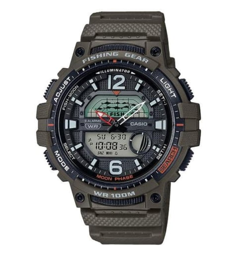 Casio Collection  WSC-1250H-3A с секундомером