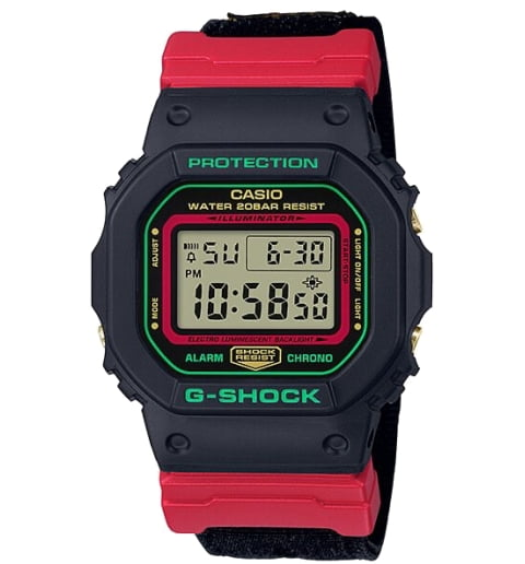 Часы Casio G-Shock DW-5600THC-1E Digital