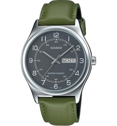 Casio Collection  MTP-V006L-3B с зеленым циферблатом