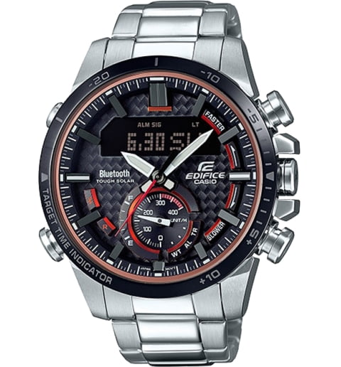 Часы Casio EDIFICE ECB-800DB-1A с Bluetooth