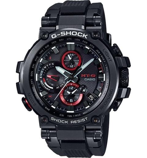Часы Casio G-Shock MTG-B1000B-1A с Bluetooth