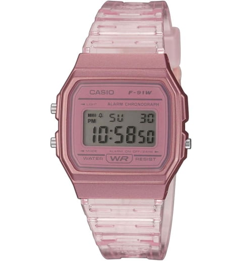 Casio Collection  F-91WS-4E с секундомером