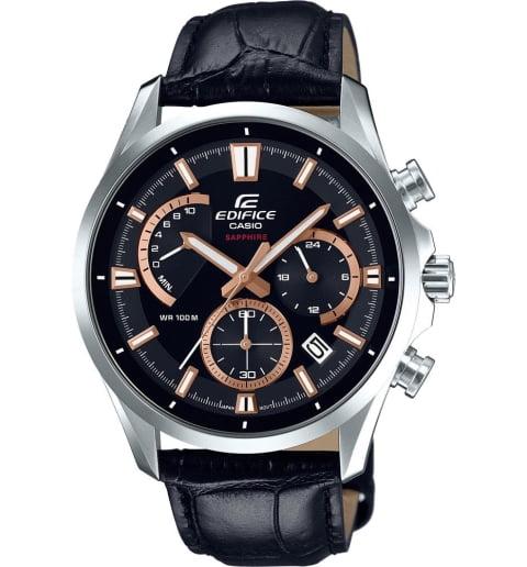 Часы Casio EDIFICE EFB-550L-1A с сапфировым стеклом