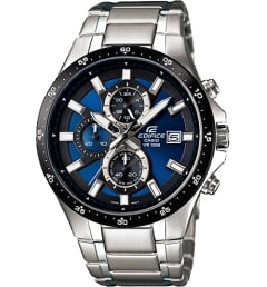 Casio EDIFICE EFR-519D-2A с синим циферблатом