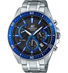 Casio EDIFICE EFR-552D-1A2 с синим циферблатом