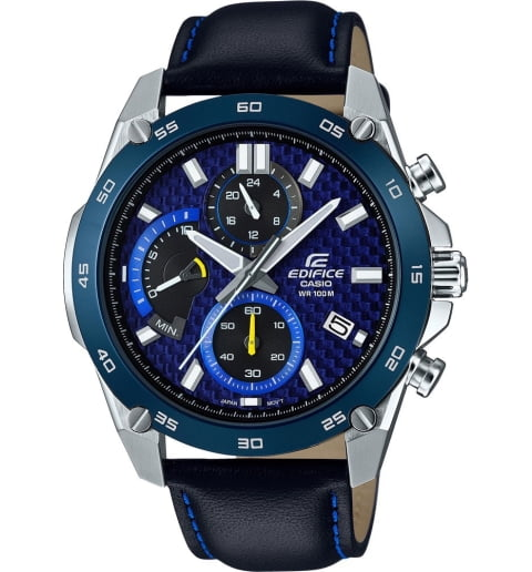 Карбоновые часы Casio EDIFICE EFR-557BL-2A