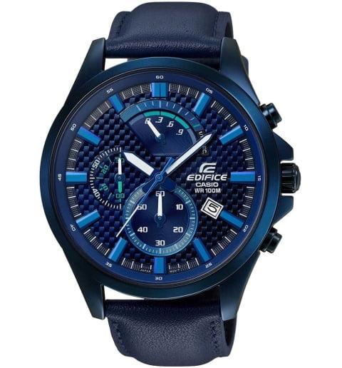 Карбоновые часы Casio EDIFICE EFV-530BL-2A