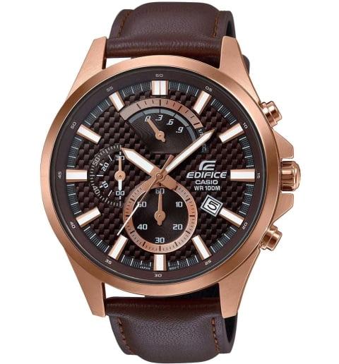 Карбоновые часы Casio EDIFICE EFV-530GL-5A