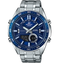 Casio Edifice EFV-C100D-2A с синим циферблатом