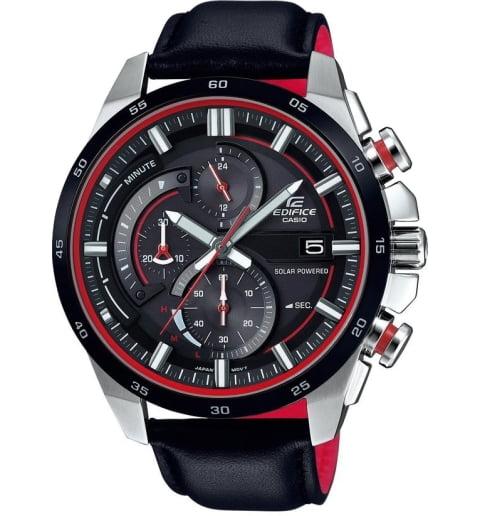 Большие часы Casio EDIFICE EQS-600BL-1A