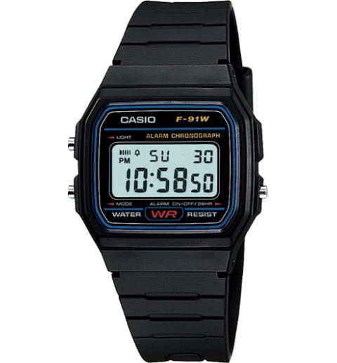 Casio Collection F-91W-1S