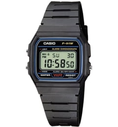 Casio Collection F-91W-1Y