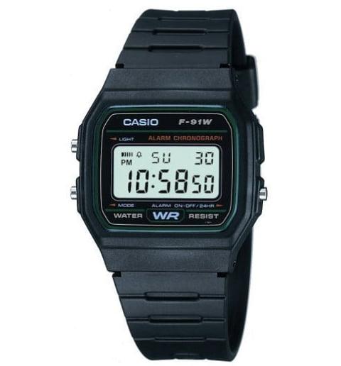 Квадратные часы Casio Collection F-91W-3S
