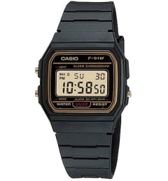 Casio Collection F-91WG-9D