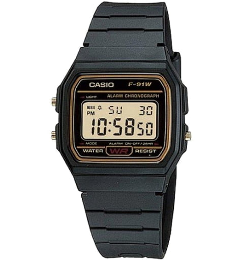 Дешевые часы Casio Collection F-91WG-9D