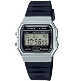 Бочкообразные Casio Collection F-91WM-1B
