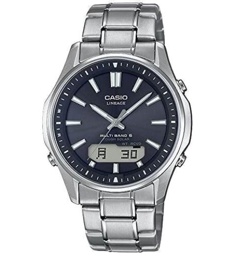 Часы Casio Lineage LCW-M100TSE-1A с титановым браслетом