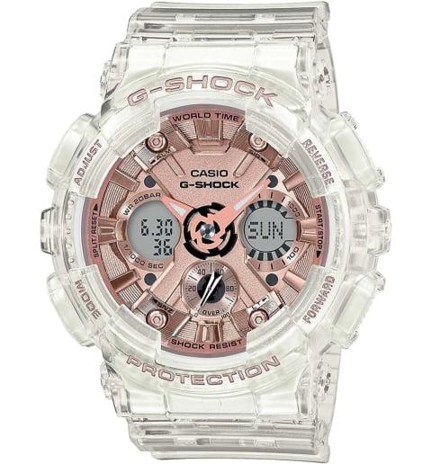 Часы Casio G-Shock  GMA-S120SR-7A с водонепроницаемостью 20 бар