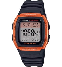 Бочкообразные Casio Collection W-96H-4A2