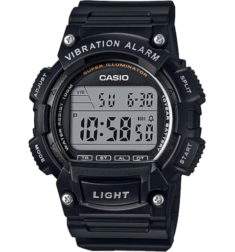 Дешевые часы Casio Collection W-736H-1A