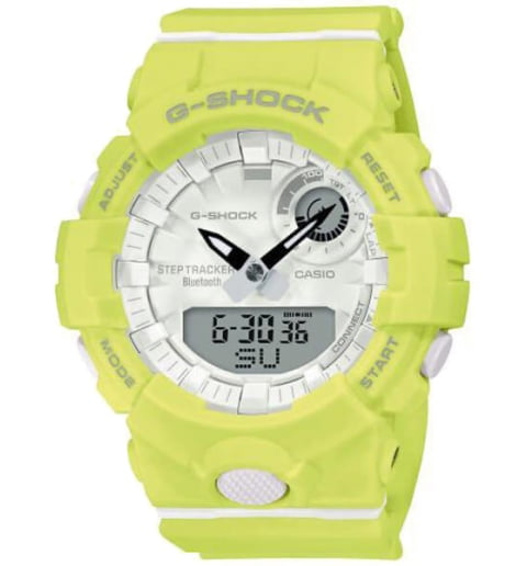 Часы Casio G-Shock GMA-B800-9A с Bluetooth