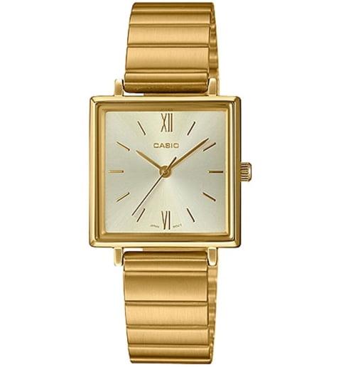 Квадратные часы Casio Collection LTP-E155G-9A