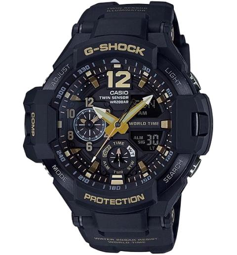 Часы Casio G-Shock GA-1100GB-1A с компасом