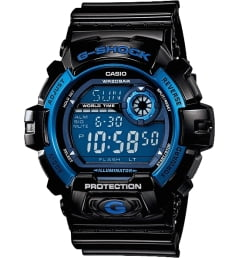 Casio G-Shock G-8900A-1E с синим циферблатом