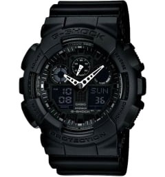 Casio G-Shock GA-100-1A1 с секундомером