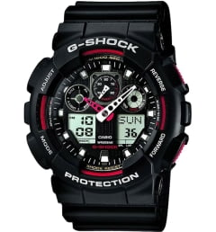 Casio G-Shock GA-100-1A4 с секундомером